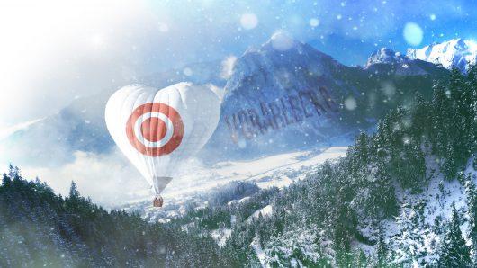 'Visual' zum ORF Radio Vorarlberg Jingle-Update für Winter 2018 (Bild: ©PURE Jingles)