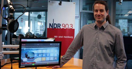 """Die """"Smart Jingle Machine 4.0"""" ist bei NDR 90,3 im Einsatz (Bild: ©Christoph Deutz)"""