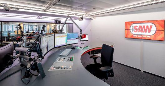 Radio SAW-Einweihung neuer Sendestudios 2018 (Bild: ©Andreas Lander)