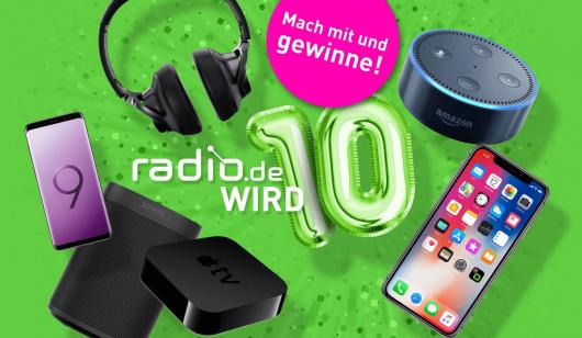 Deutschlands größte Radioplattform radio.de wird 10 (Bild: radio.de)