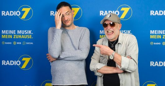 Sebastian Pauls und Jack Krispin (Bild: Radio 7)