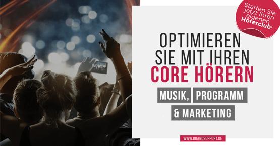 Brand Support: Brand Advocate Club: Marktforschung mit eigenem Hörerpanel - geht das?