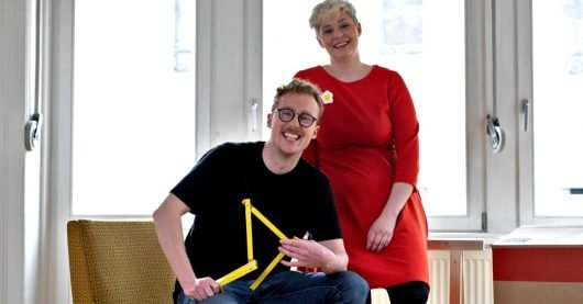 """Annette Volmer (""""Nette"""") und Florian Brückner (""""Flo"""") (Bild: SWR/DASDING)"""