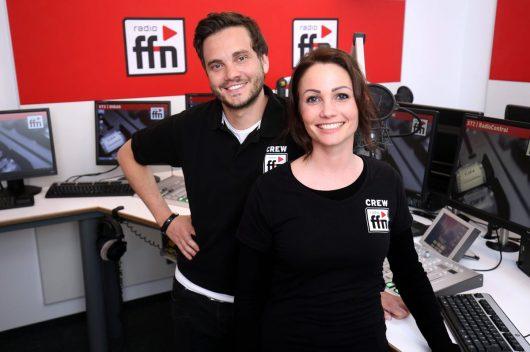 ffn Dany Füg & Malte Seidel Studio 1 (Bild: © radio ffn)