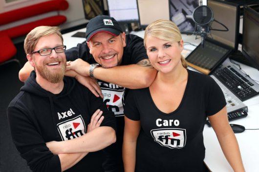 ffn-Morgenshow Studio 1 (Bild: © radio ffn)