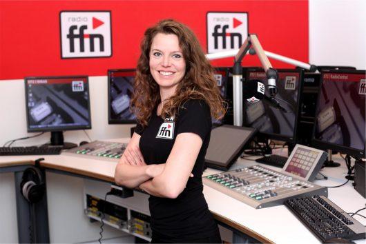 ffn Sarah Berg Studio 1 (Bild: © radio ffn)