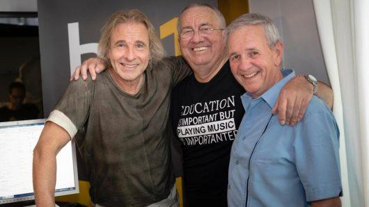 Thomas Gottschalk, Werner Reinke und Fritz Egner (Bild: ©hr1)