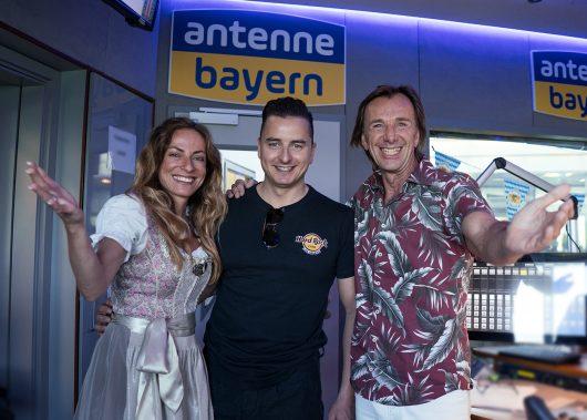 Andreas Gabalier singt offizielle ANTENNE BAYERN-WM-Hymne (Bild: Antenne Bayern 2018)