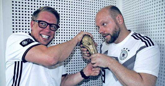 Morgenmoderator Jan Herold und Mentalist Harry Riegel (Bild: Radio Charivari)