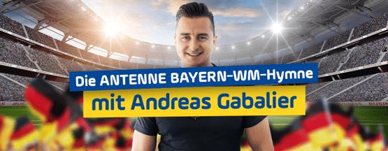 Andreas Gabalier singt offizielle ANTENNE BAYERN-WM-Hymne-min