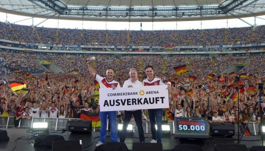FFH-Public Viewing in der Commerzbank-Arena Frankfurt