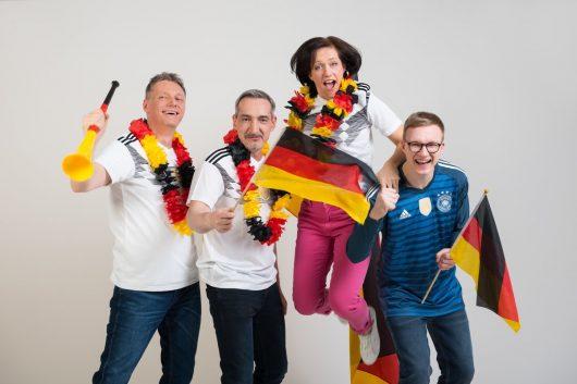 Radio Brocken Morgenshow im WM-Fieber (Bild: Radio Brocken)