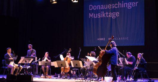 Donaueschinger Musiktage 2017: RB Konzert NOW Jazz Session mit Joelle Leandre Tentet (Bild: SWR/Ralf Brunner)