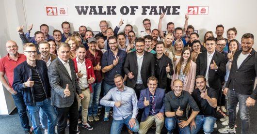 Steffen Müller und Team (Bild: ©Radio21)