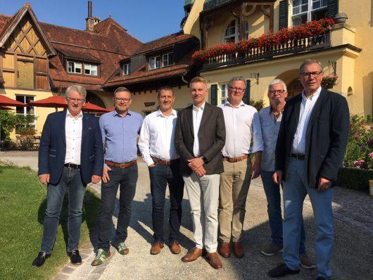 VBL-Vorstandschaft im Juli 2018 (Bild: VBL)
