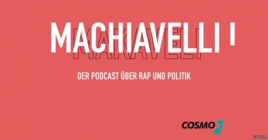 """""""Machiavelli"""": WDR COSMO startet Podcast über Rap und Politik (Bild: ©WDR)"""