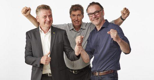 Joachim Ackerl, Christian Stögmüller, Steffen Schambach (Bild: ©Wimmer)