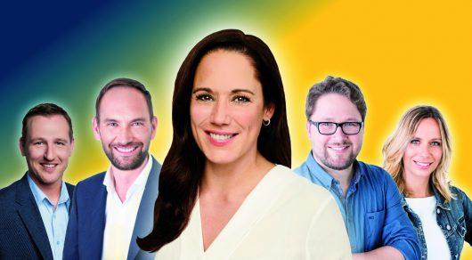 Nominiert für den Deutschen Radiopreis 2018: die Morgensendung des Berliner Rundfunk 91.4 mit Simone Panteleit (Bild: Berliner Rundfunk 91.4)