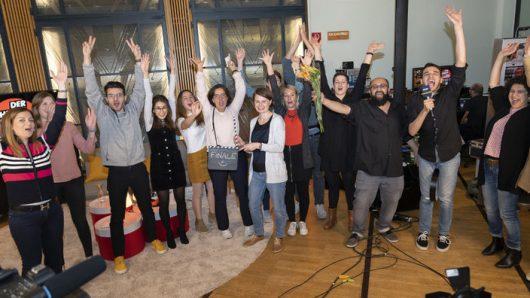 Das Team des Online-Kanals WDRforyou (Bild: © WDR/Herby Sachs)