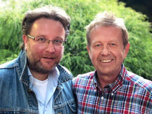 Frank Beecken und Helmer Litzke (Bild: maassgenau)