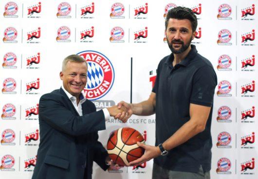Michael Hambrock GF ENERGY und Marko Pesic GF FC Bayern Basketball (Bild: ENERGY)