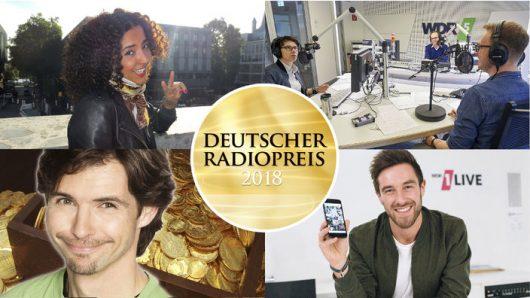 Deutscher Radiopreis - WDR-Nominerte (Bild-Collage: ©WDR)