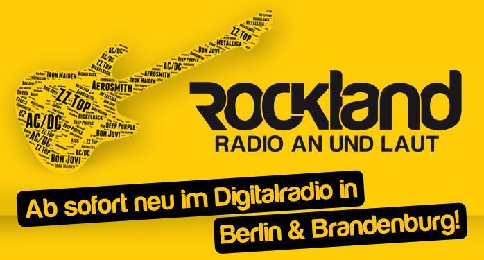 ROCKLAND.fm auch in Berlin und Brandenburg on air
