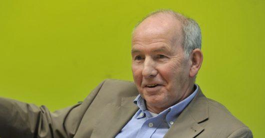 Radiolegende Jürgen Herrmann bei der Pressekonferenz zum Bayern 3-Kultabend 2013 (Bild: ©BR/Julia Mueller)