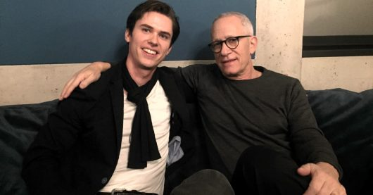 Playlist-Manager Hannes Opferkuch mit Hollywood-Komponist James Newton Howard (Bild: ©Klassik Radio)