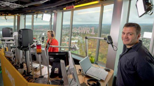 SWR1 Hitparade 2018 live vom Fernsehturm (Bild: ©SWR)