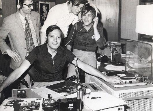 Walther Krause und das Pop Shop-Team 1970 (Bild: Privatarchiv Frank Laufenberg)