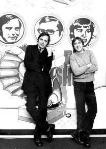 Walther Krause und Frank Laufenberg 1973 (Bild: ©Privatarchiv Frank Laufenberg)
