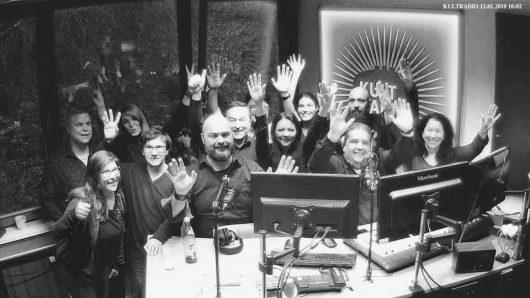 Das Kultradio-Team (Bild: ©Kultradio)