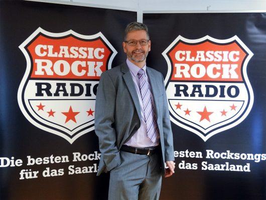 CLASSIC ROCK RADIO Geschäftsführer und Programmdirektor Michael Mezödi