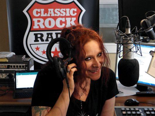 CLASSIC ROCK RADIO Moderatorin Sabine Kiehn