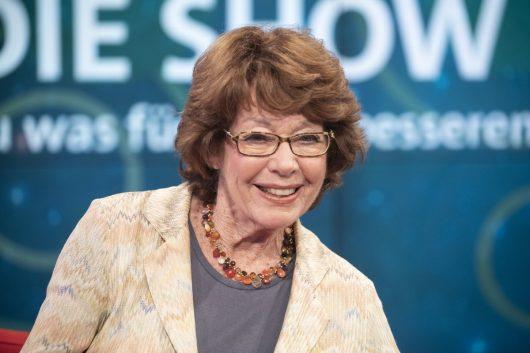 Dr. Marianne Koch als Expertin bei Gesundheit! Die Show im BR Fernsehen im Oktober 2018 (Bild: ©BR/Wilschewski)