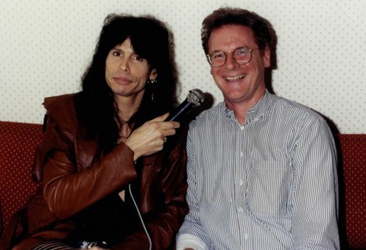 Steven Tyler (Aerosmith) und Jim Sampson (Bild: privat, Sampson)
