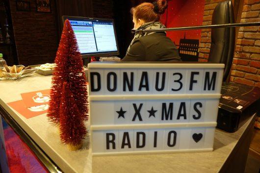 Weihnachtsmarktradio 2018 (Bild: ©DONAU 3 FM)