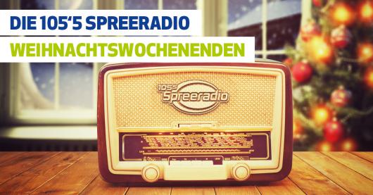 105´5 Spreeradio wird zum Weihnachtssender