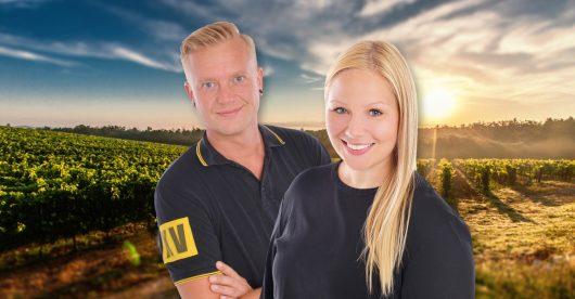 Lisa Marie Schulze und Reyk Heyer (Bild: ©baden.fm)