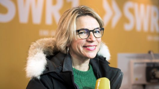 SWR1-Gipfelradio-Moderatorin Stefanie Anhalt. (Bild: SWR/Michael Kost)