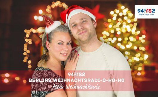 94,3 rs2 Weihnachtsradio mit Gerlinde Jänicke und Frank Nitzschmann (Bild: ©rs2)
