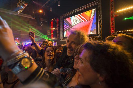 BAYERN 1-Silvester-Party 2017 (Bild: BR/Hans Martin Kudlinksy)