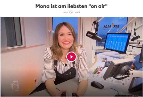 93,6 JAM FM-Moderatorin Mona bei Shopping Queen