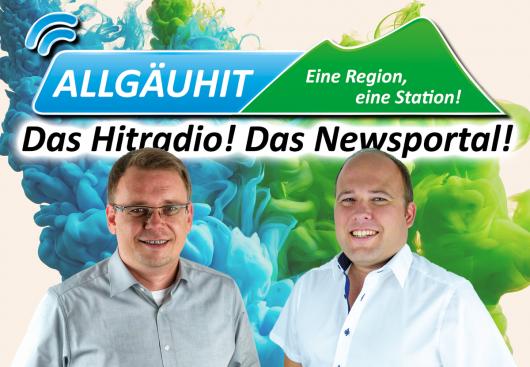 Die AllgäuHIT-Gesellschafter Marcus Baumann und Thomas Häuslinger. (Bild: ©AllgäuHIT)