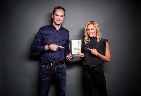 Mathias Giloth und Helene Fischer (Bild: © Dennis Dirksen / Universal Music)