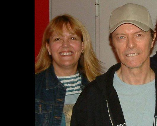 Lidia Antonini und David Bowie (Bild: ©HR3)