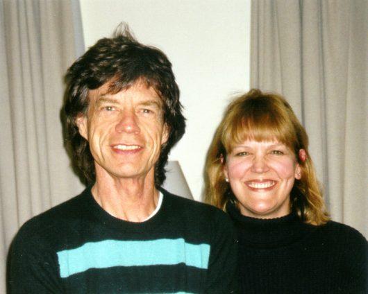 Lidia Antonini und Mick Jagger (Bild: ©HR3)