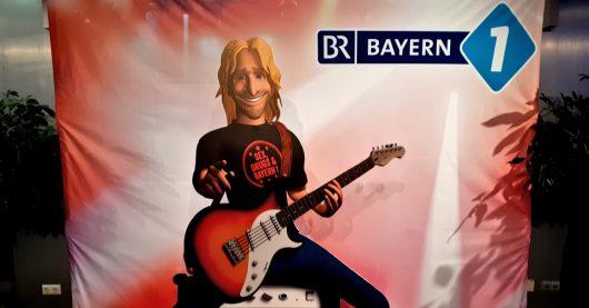 Bayern 1-Silvesterparty mit Thomas Gottschalk und Fritz Egner (Bild: Thomas Kircher)