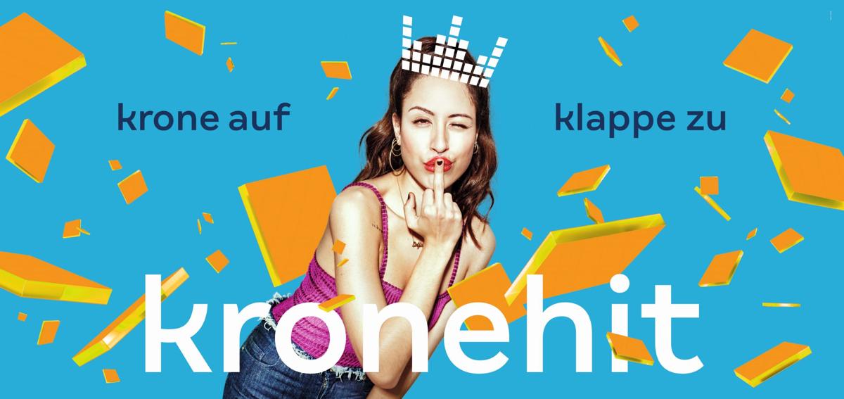 Markenrelaunch 2019: Aus KRONEHIT wird kronehit